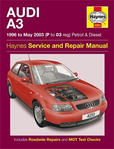 Haynes Reparationshandbok, Audi A3 Petrol & Diesel