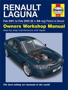 Haynes Reparationshandbok, Renault Laguna Petrol & Diesel