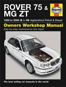 Haynes Reparationshandbok, Rover 75 / MG ZT Petrol & Diesel, Universal