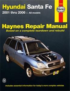 Haynes Reparationshandbok, Hyundai Santa Fe, Universal