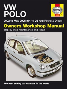 Haynes Reparationshandbok, VW Polo Petrol & Diesel