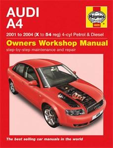 Haynes Reparationshandbok, Audi A4 Petrol & Diesel