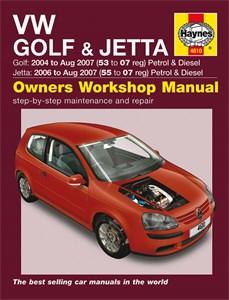 Haynes Reparationshandbok, VW Golf & Jetta Petrol & Diesel, Universal