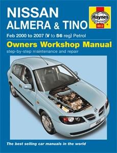 Haynes Reparationshandbok, Nissan Almera & Tino Petrol, Universal