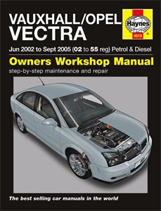 Haynes Reparationshandbok, Vauxhall/Opel Vectra, Vauxhall/Opel Vectra Petrol & Diesel