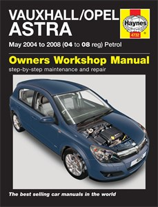 Haynes Reparationshandbok, Vauxhall/Opel Astra Petrol, Universal