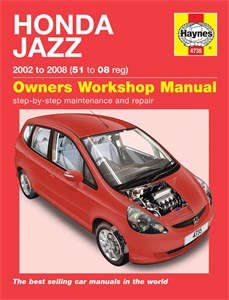 Haynes Reparationshandbok, Honda Jazz, Universal