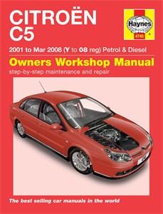 Haynes Reparationshandbok, Citroen C5 Petrol & Diesel, Universal