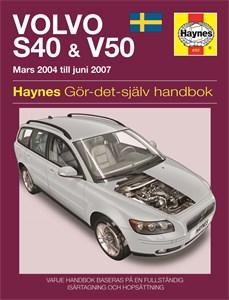 Haynes Reparationshandbok, Volvo S40 & V50