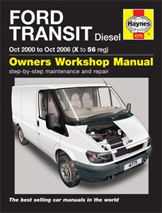Haynes Reparationshandbok, Ford Transit Diesel, Universal