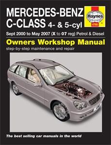 Haynes Reparationshandbok, Mercedes-Benz C-Class, Mercedes-Benz C-Class Petrol & Diesel