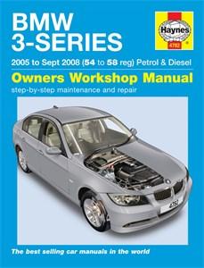 Haynes Reparationshandbok, BMW 3-Series petrol & diesel, Universal