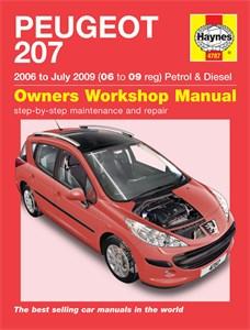 Haynes Reparationshandbok, Peugeot 207 Petrol & Diesel