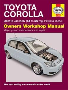 Haynes Reparationshandbok, Toyota Corolla