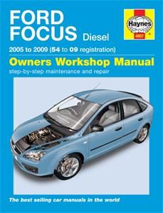 Haynes Reparationshandbok, Ford Focus Diesel, Universal