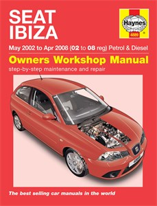 Haynes Reparationshandbok, Seat Ibiza Petrol & Diesel, Universal