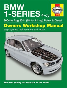 Haynes Reparationshandbok, BMW 1-Series 4-cyl Petrol, Diesel, Universal