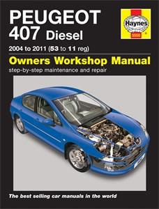 Haynes Reparationshandbok, Peugeot 407 Diesel, Universal