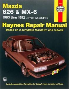 Haynes Reparationshandbok, Mazda 626 & MX-6 (FWD)