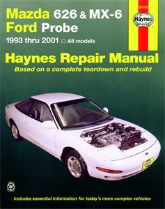 Haynes Reparationshandbok, Mazda 626, MX-6 & Ford Probe