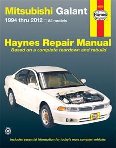 Haynes Reparationshandbok, Mitsubishi Galant