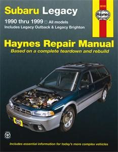 Haynes Reparationshandbok, Subaru Legacy, Universal