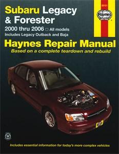Haynes Reparationshandbok, Subaru Legacy & Forester