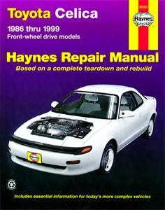 Haynes Reparationshandbok, Toyota Celica (FWD)