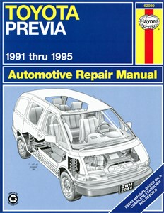 Haynes Reparationshandbok, Toyota Previa Van, Universal