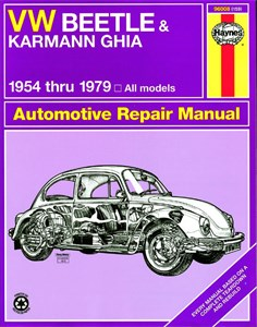 Haynes Reparationshandbok, VW Beetle & Karmann Ghia