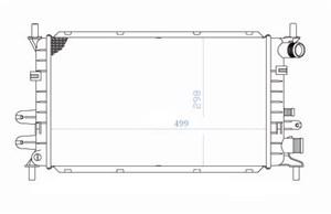 Reservdel:Ford Escort Kylare, motorkylning