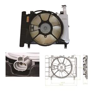 Ventilator, motorkøling, Bagved køleren