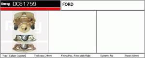 Reservdel:Ford Sierra Bromsok, Fram, Höger, Bakom axeln