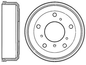 Reservdel:Volkswagen Lt 28-35 Bromstrumma, Bak