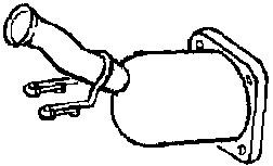 Katalysaattori, Keskellä
