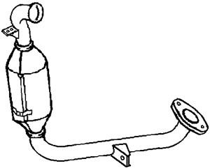 Dieselpartikelfilter, Foran