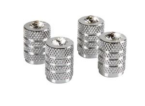 ALUMINIUM VALVE CAPS WITH DIAMONDS, Universal