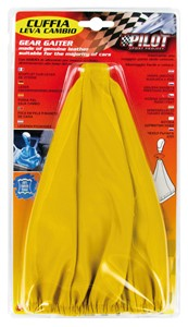 YELLOW GEAR SHIFT COVER W/RING, Universal
