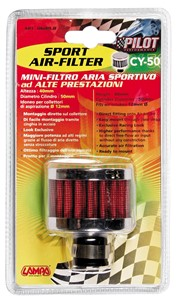 12MM. CYLINDRICAL AIR FILTER, Universal
