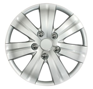 "4PCS ABS WHEEL COVER 15"" C-120 TYPE, Universal"