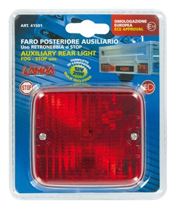 AUXILIARY REAR LIGHT, RED, Universal