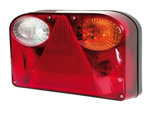 """""""DE-LUXE"""" TAIL LIGHT, RIGHT, Universal"""