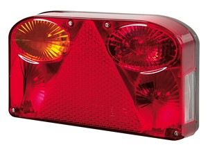 """DE-LUXE"" TAIL LIGHT, LEFT, Universal"