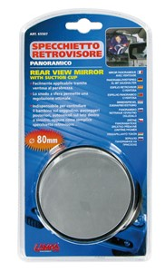 INSIDE MIRROR W/SUCTION CUPS, Universal