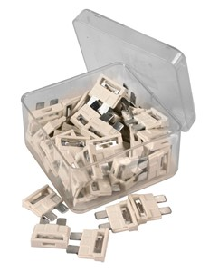50 PCS ATS BLADE TYPE CAR FUSES7,5A, Universal