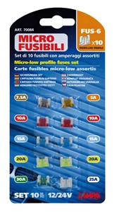 LOW PROFILE MINI PLUG IN FUSES, Universal