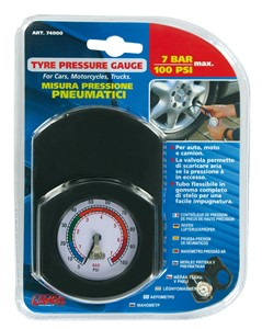 PROFESSIONAL TIRE GAUGE 7BAR/100PSI, Universal