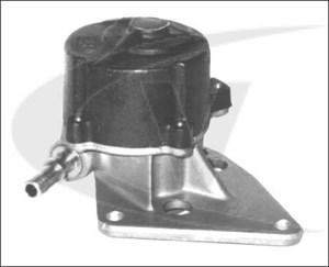 Vakuumpump, bromssystem