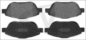 varaosat:Citroen C3 Jarrupalasarja, levyjarru, Edessä