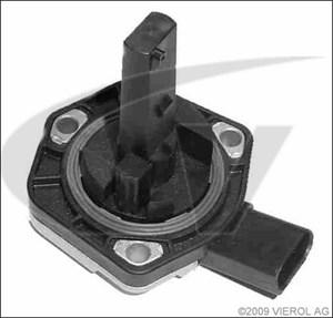 Sensor, motoroljenivå